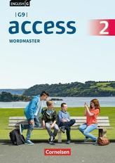 English G Access - G9 - Band 2: 6. Schuljahr - Wordmaster mit Lösungen