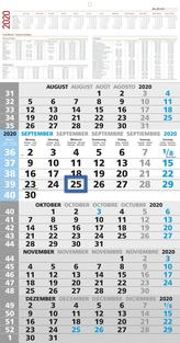 5-Monatskalender 2020