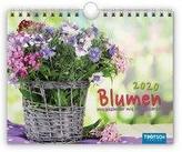 Notizkalender Blumen 2020
