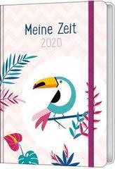 Meine Zeit 2020 - Taschenkalender (Farbenfroh)