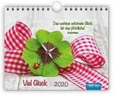 Notizkalender Viel Glück 2020