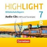 Highlight 7. Jahrgangsstufe - Mittelschule Bayern - Für R- Klassen- CD-Extra