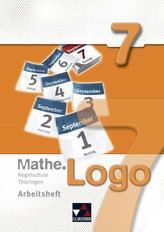 Mathe.Logo 7 Regelschule Thüringen Arbeitsheft