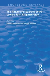 THE NATURE AND SOURCES OF THE LAW B