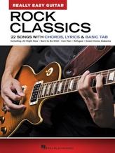 ROCK CLASSICS REALLY EASY GUITAR SERIES