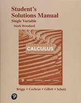 Student\'s Solutions Manual for Single Variable Calculus