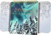 Tischkalender mit Flügeltüren - 24 Momente, die wie Sterne leuchten