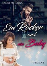 Ein Rocker und ein Baby