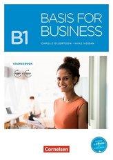 Basis for Business B1 - Kursbuch mit Audios und Videos als Augmented Reality