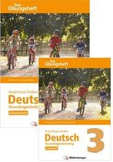 Anschluss finden / Deutsch 3 - Das Übungsheft - Grundlagentraining: Leseheft und Arbeitsheft