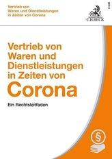 Vertrieb von Waren und Dienstleistungen in Zeiten von Corona