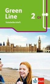 Green Line 2 G9. Vokabellernheft Klasse 6