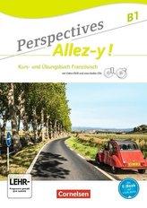 Perspectives - Allez-y ! B1 - Kurs- und Übungsbuch mit Lösungsheft