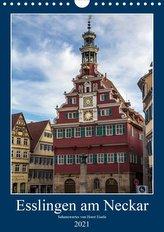 Esslingen am Neckar - Sehenswertes (Wandkalender 2021 DIN A4 hoch)