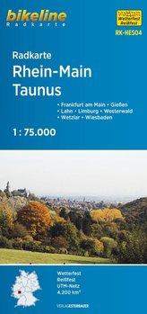 Radkarte Rhein-Main, Taunus (RK-HES04)