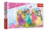 Puzzle Princezny Disney 33x22cm 60 dílků v krabičce 21x14x4cm