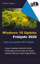 Windows 10 Update - Frühjahr 2020