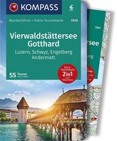 KOMPASS Wanderführer Vierwaldstättersee, Gotthard