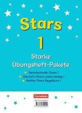 STARS - starke Übungshefte - 1. Schuljahr - 3 Übungshefte im Paket mit Lösungen