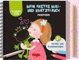 Mein erstes Mal- und Kratzelbuch Prinzessin