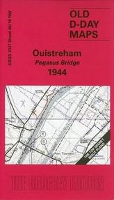 D-Day 40/16 Ouistreham - Pegasus Bridge 1944 1 : 25 000