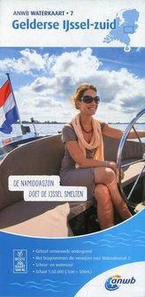 Gerlderse IJssel-Zuid 1:50 000 Waterkaart