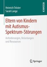 Eltern von Kindern mit Autismus-Spektrum-Störungen