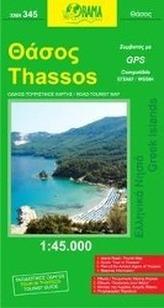 Thassos 1 : 50 000