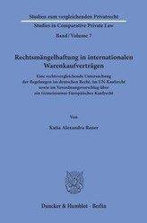 Rechtsmängelhaftung in internationalen Warenkaufverträgen