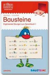 LÜK. Deutsch. 2. Klasse. - Teil 1: Bausteine - Ergänzende Übungen zum Sprachbuch, Teil 1