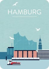 Hamburg. Magnet