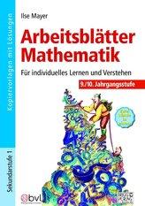 Arbeitsblätter Mathematik 9./10. Klasse