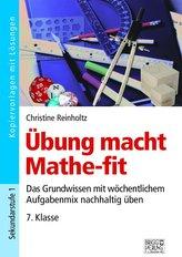 Übung macht Mathe-fit 7. Klasse