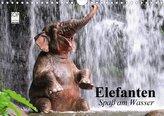 Elefanten. Spaß am Wasser (Wandkalender 2021 DIN A4 quer)