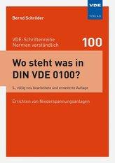 Wo steht was in DIN VDE 0100?