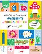 Mein Mal- und Mitmachbuch - Kunterbunte Jahreszeiten