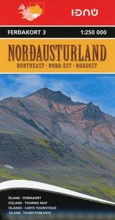 Iceland Northeast 3    1 : 250 000