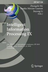 Intelligent Information Processing IX