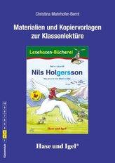 Nils Holgersson / Silbenhilfe Begleitmaterial