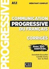 Communication progressive du français. Niveau débutant complet. Corrigés