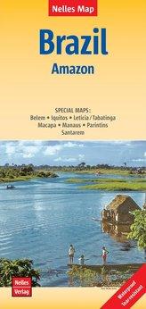 Nelles Map Landkarte Brazil: Amazon 1 : 2 500 000