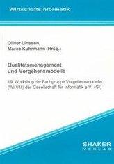Qualitätsmanagement und Vorgehensmodelle