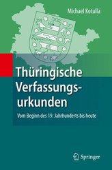 Thüringische Verfassungsurkunden