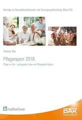 Pflegereport 2018