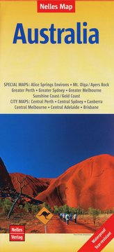 Nelles Map Landkarte Australia 1:4 500 000
