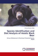 Species Identification and Diet Analysis of Asiatic Black Bear
