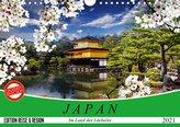 Japan. Im Land des Lächelns (Wandkalender 2021 DIN A4 quer)
