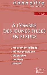 Fiche de lecture À l'ombre des jeunes filles en fleurs de Marcel Proust (Analyse littéraire de référence et résumé complet)