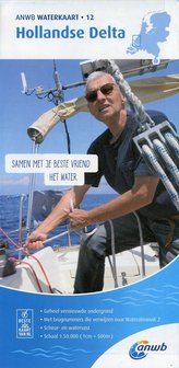 Hollandse-Delta 1:50 000 Waterkaart
