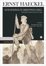 Haeckel-Ausgewählte Briefwechsel Bd.2 Familienkorrespondenz